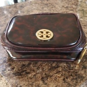 Small Tory Burch cosmetic case